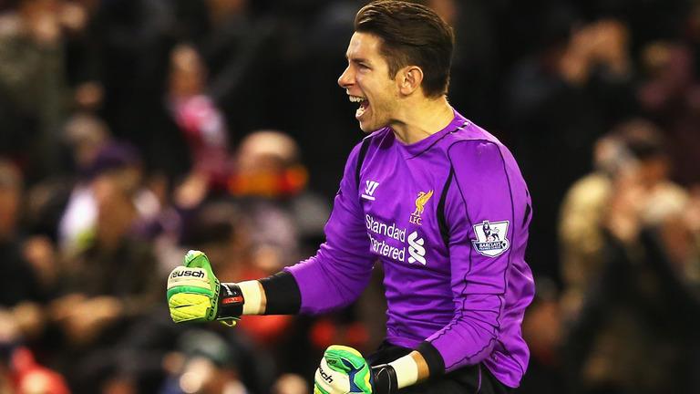 Brad Jones Liverpool goalkeeper