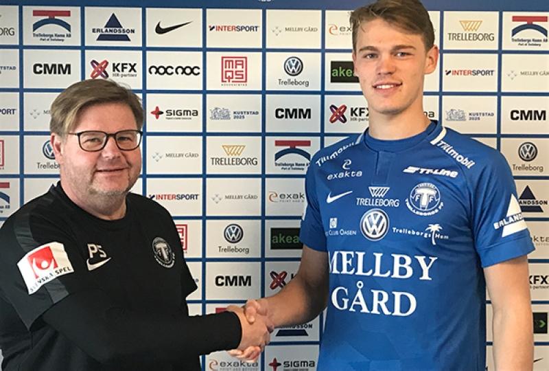 Officiellt: Hugo Andersson lånas ut till TFF