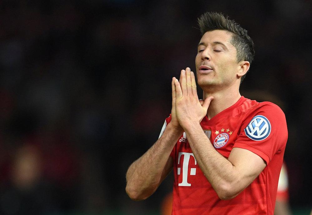 Manchester United drömmer om Robert Lewandowski
