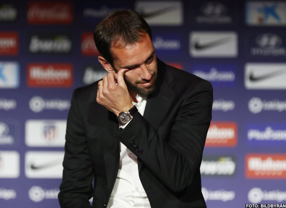 Officiellt: Diego Godín lämnar Atlético Madrid