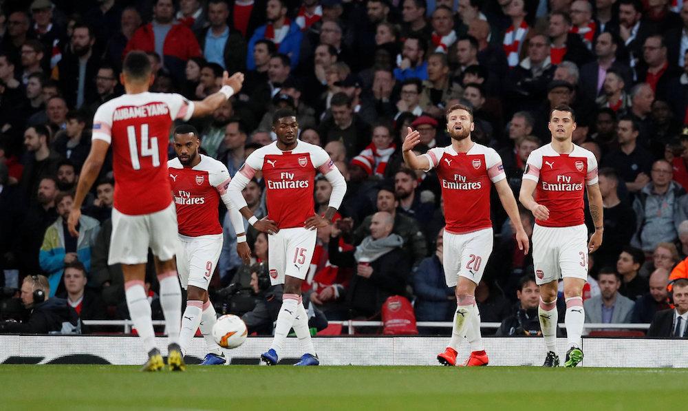 """Mustafi: """"Kommer inte starta krig med Arsenal"""""""