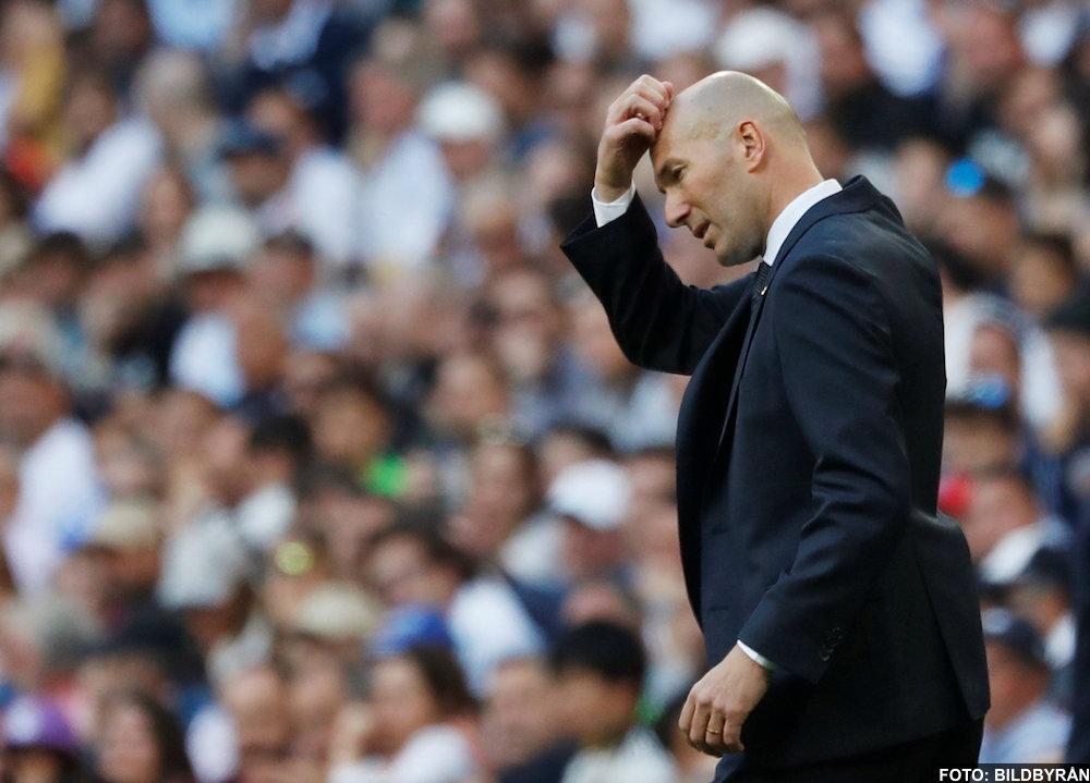 Uppgifter: Juventus vill locka till sig Zinedine Zidane