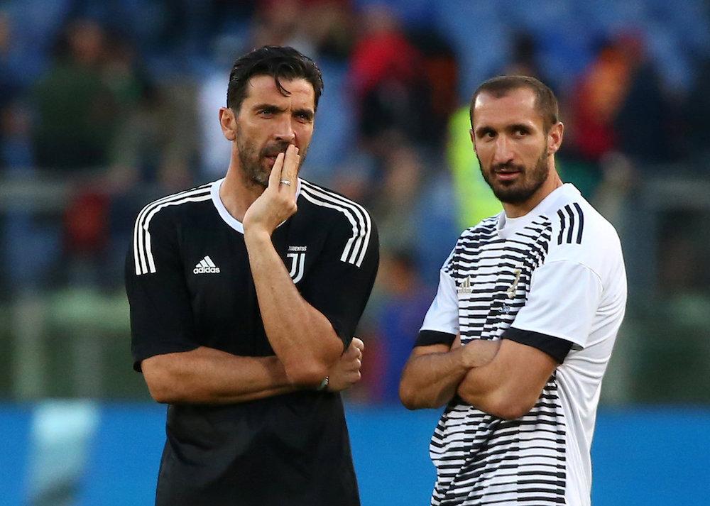 Officiellt: Buffon och Chiellini förlänger med Juventus