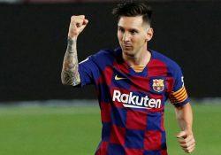 """Presidenten: """"Messi vill avsluta karriären i Barcelona"""""""