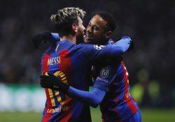 Uppgifter: Messi försöker locka Neymar till Manchester City