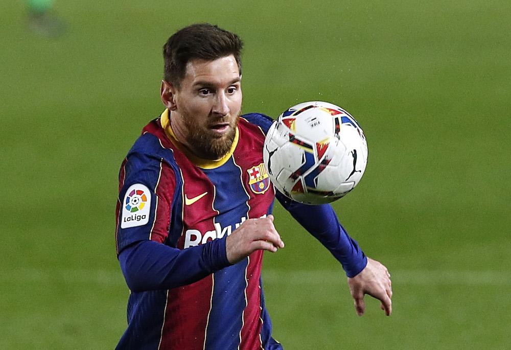 Manchester City ger upp i jakten på Lionel Messi