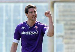 Atlético Madrid överens med Fiorentina om Vlahovic