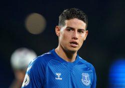 Everton beredda att dumpa James Rodríguez i sommar
